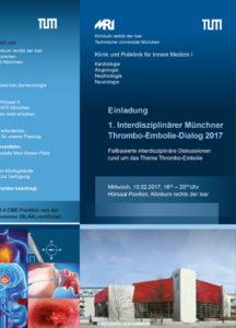 Interdisziplinärer Münchner Thrombo-Embolie-Dialog 2017